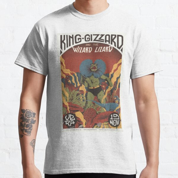 King Gizzard and the Lizard Wizard tour poster Classic T-Shirt