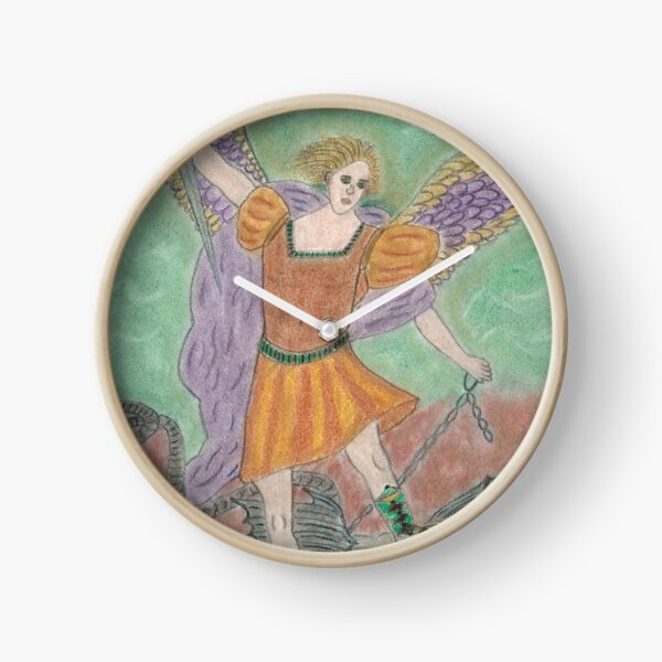 Archangel Michael Clock