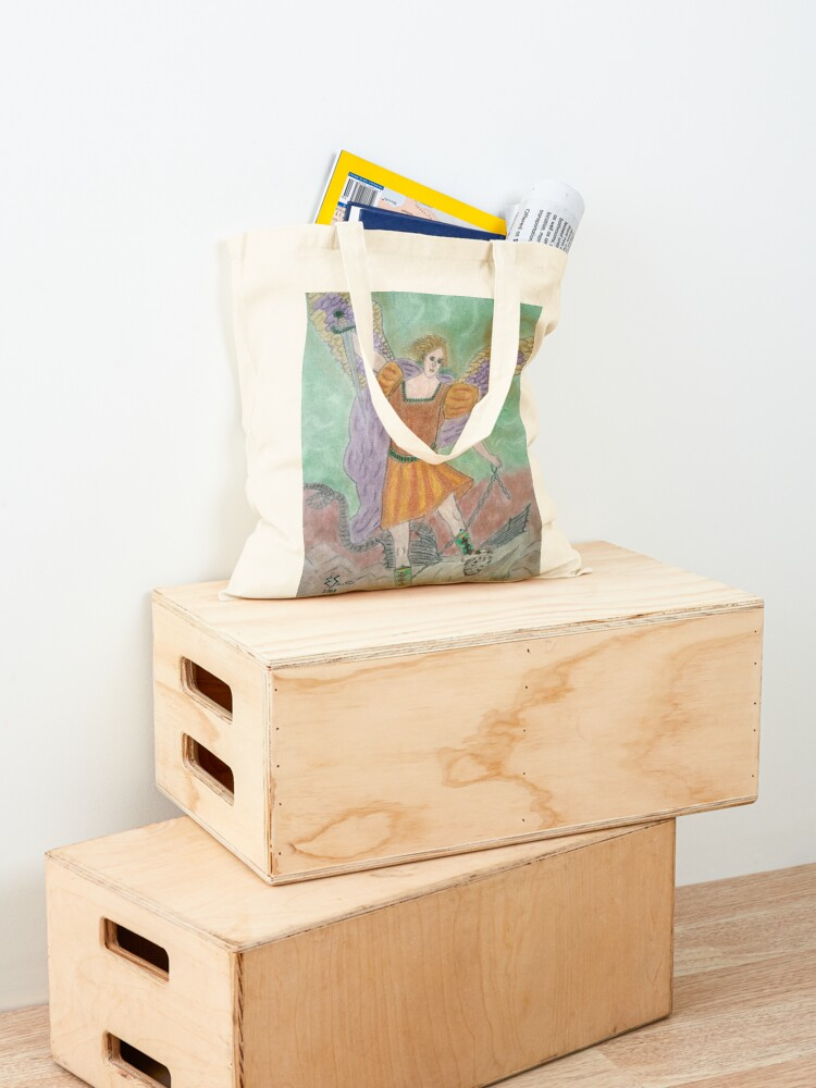 Alternate view of Archangel Michael Tote Bag