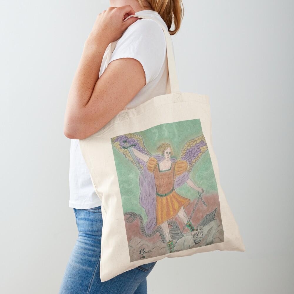 Archangel Michael Tote Bag