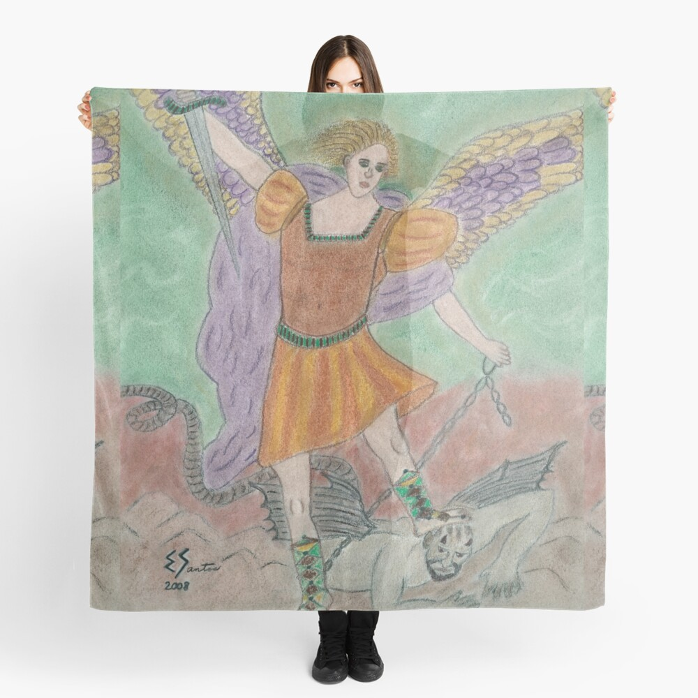 Archangel Michael Scarf