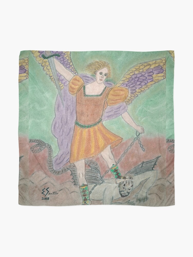 Alternate view of Archangel Michael Scarf