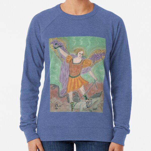 Archangel Michael Lightweight Sweatshirt