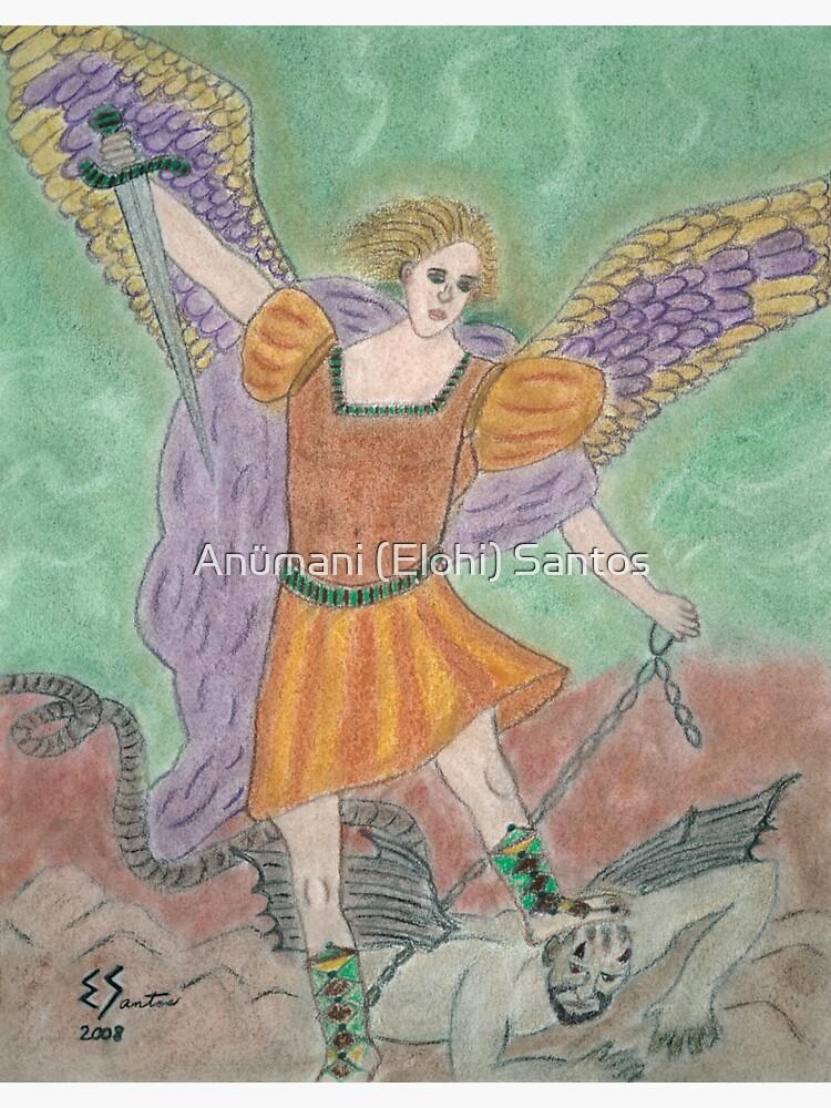 Archangel Michael by anumani