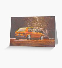 Russet Greeting Card