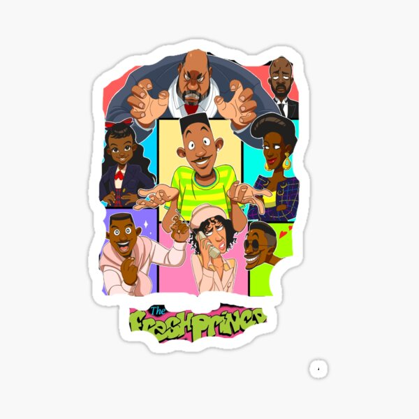 Fresh prince bel Sticker