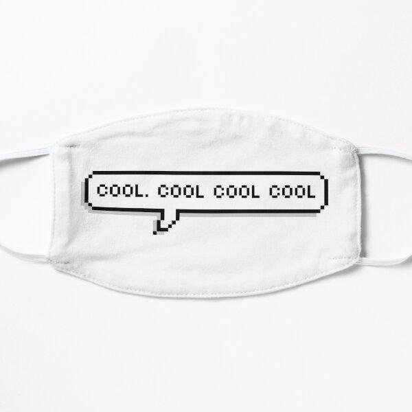 Cool Cool Cool Pixel Speech Bubble Flat Mask