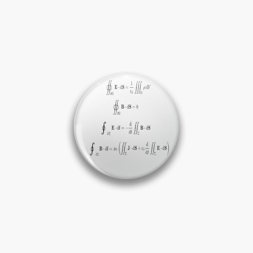Maxwell's equations, #Maxwells, #equations, #MaxwellsEquations, Maxwell, equation, MaxwellEquations, #Physics, Electricity, Electrodynamics, Electromagnetism Pin