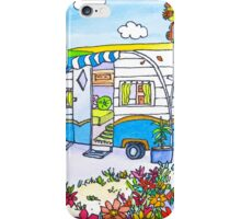 Retro Caravan Holiday iPhone Case/Skin