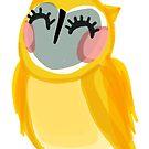 Sunshine Owl by annieclayton