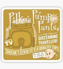 Pilko's Pump Pants Sticker