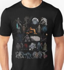 Bloodborne bosses Unisex T-Shirt