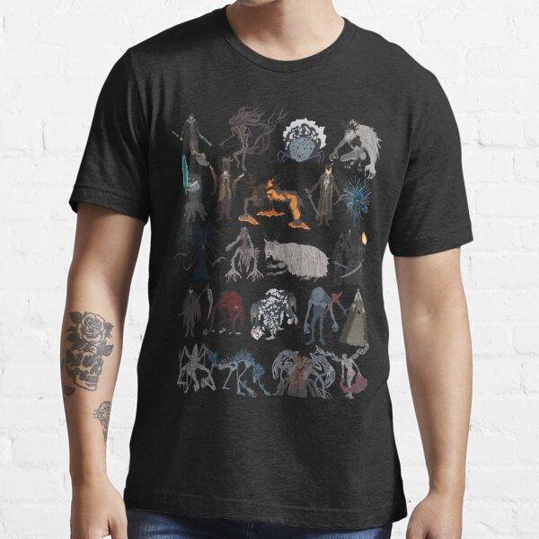 Bloodborne bosses Camiseta esencial