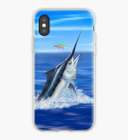 Black Marlin iPhone Case