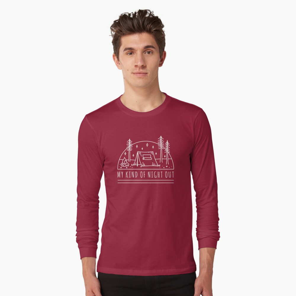 My Kind of Night Out (Light) Long Sleeve T-Shirt