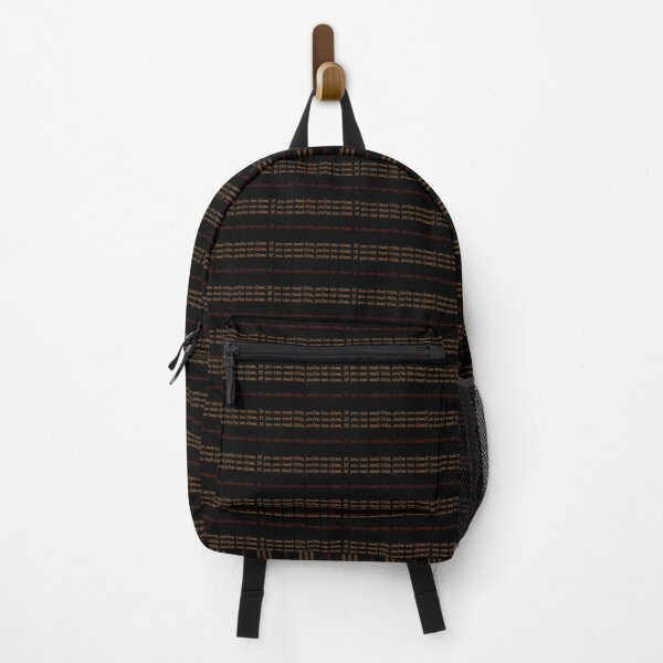 Social Distancing  Backpack