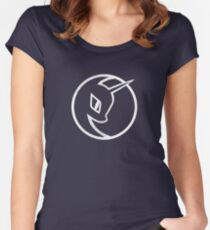 Nightmare Moon Logo - My Little Pony Women's Fitted Scoop T-Shirt