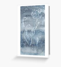 Snowflower Greeting Card