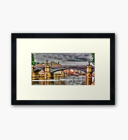 River Ouse York Framed Print