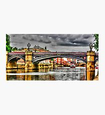 River Ouse York Photographic Print