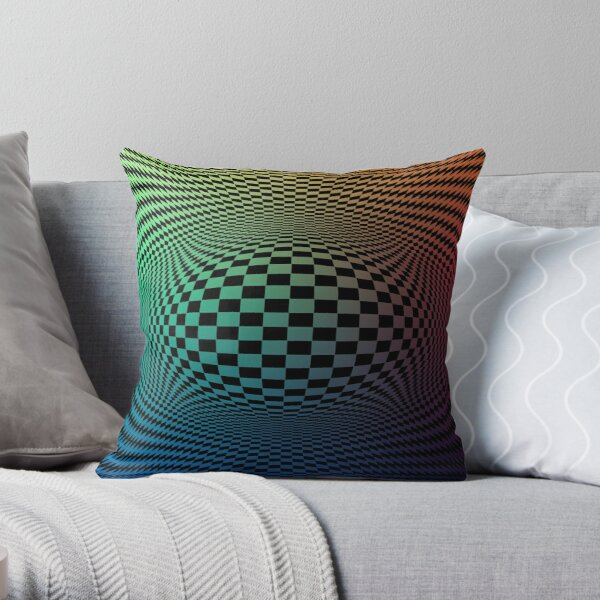 Cognitive Illusions Throw Pillow