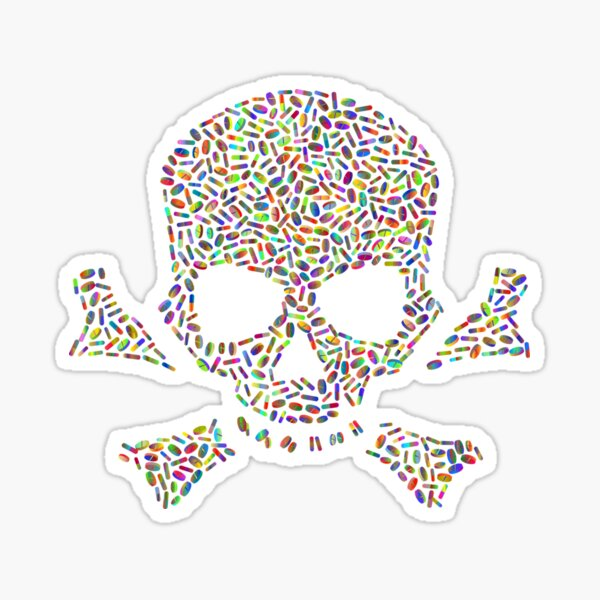 The Best design For Drugs in 2020 Sticker