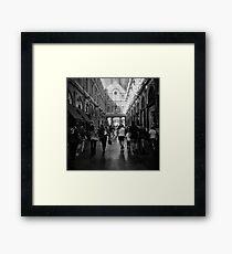 horde Framed Print