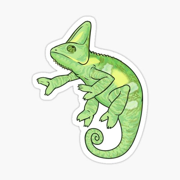 Veiled Chameleon Sticker
