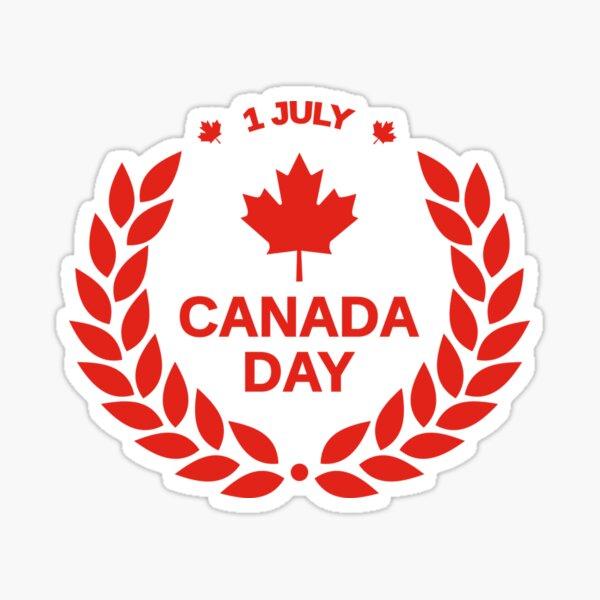 Canada day 1 JULY Best design in 2020 Sticker