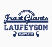 Captain Loki Laufeyson Jotunheim Frost Giants   Unisex T-Shirt