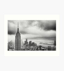 New York - Empire State Building Art Print