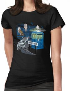 Hedwig Says Who! Womens Fitted T-Shirt
