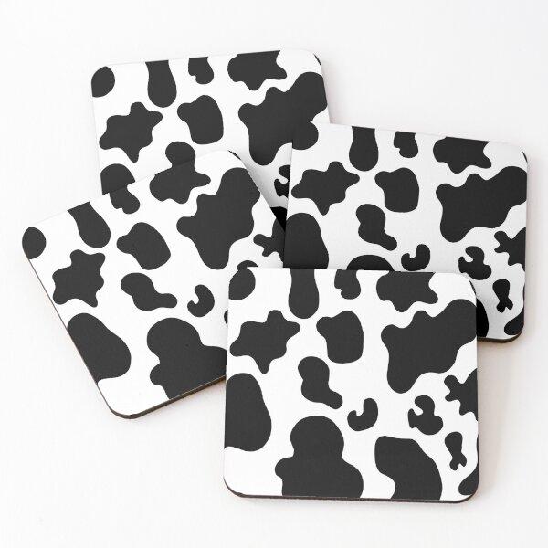 cow print Coasters (Set of 4)