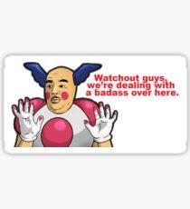 Mr.Mime / Neil Degrasse Tyson Meme Sticker