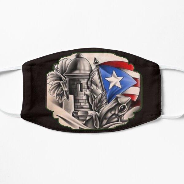 Celebración de Puerto Rico Mascarilla plana