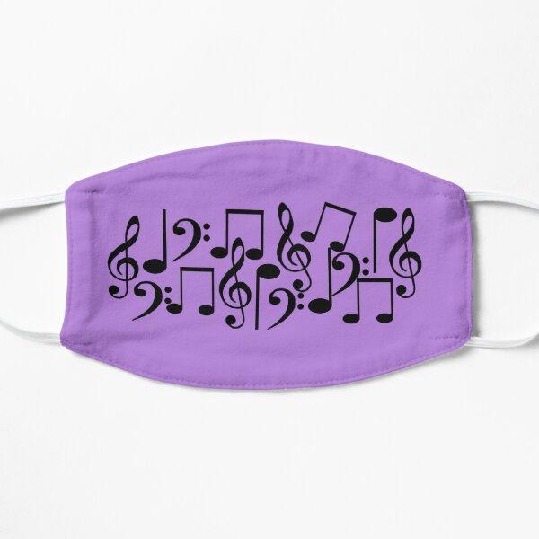 Jumbled Music Notes Mask
