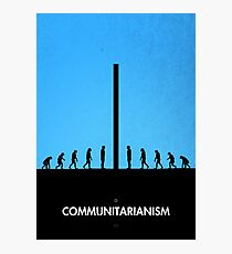 99 Steps of Progress - Communitarianism Photographic Print