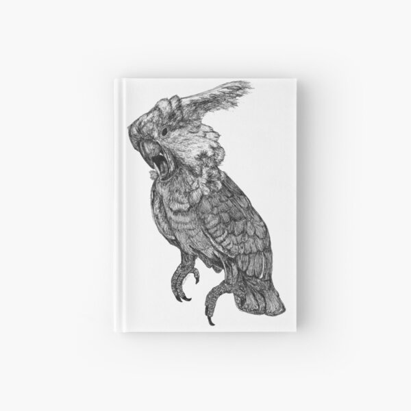 Sassy the Cockatoo Hardcover Journal