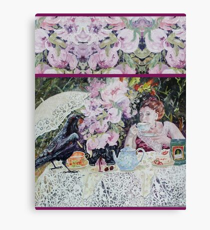 Tea for Two (Tote Bag) Canvas Print