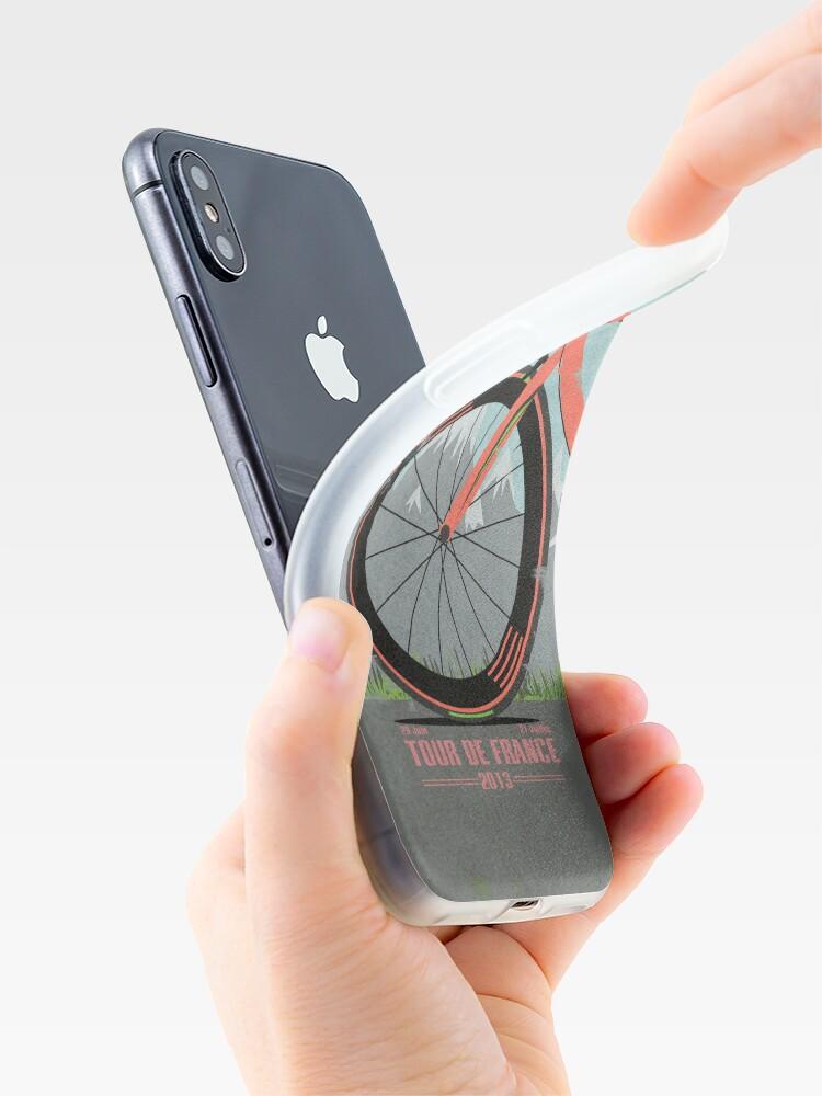Alternative Ansicht von Tour De France Bike iPhone-Hülle & Cover