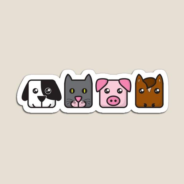 NBAR Animals Magnet