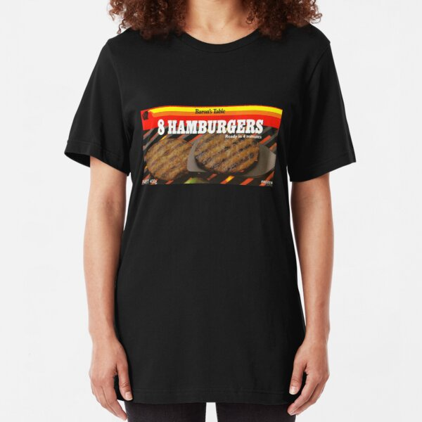 BURGERS! Slim Fit T-Shirt