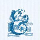 ampersands.. in blue by ltdRUN