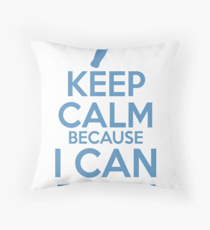 Keep Calm because I Can Fix It Throw Pillow