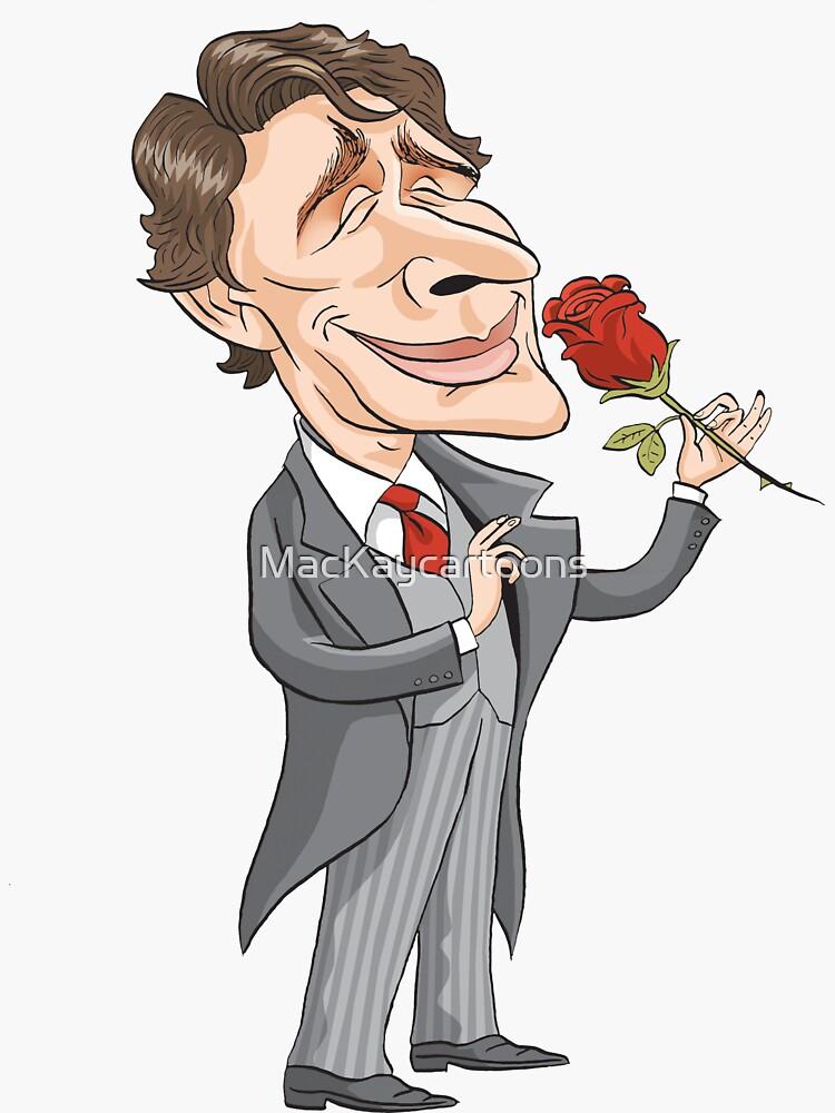 Justin Trudeau by MacKaycartoons