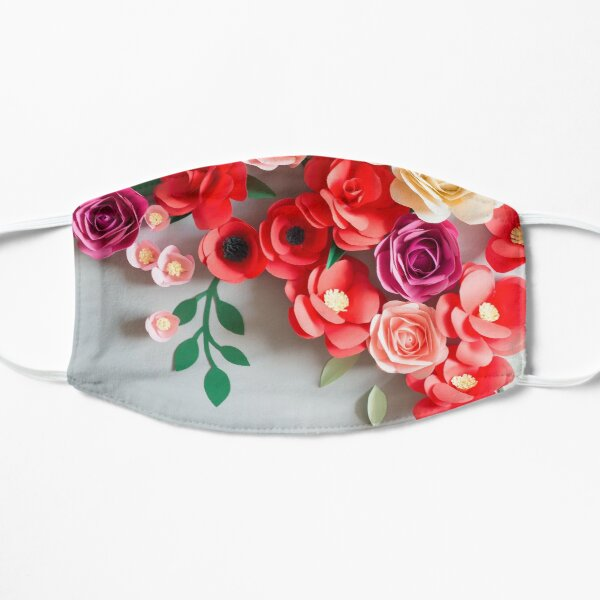 Paper flowers Flat Mask