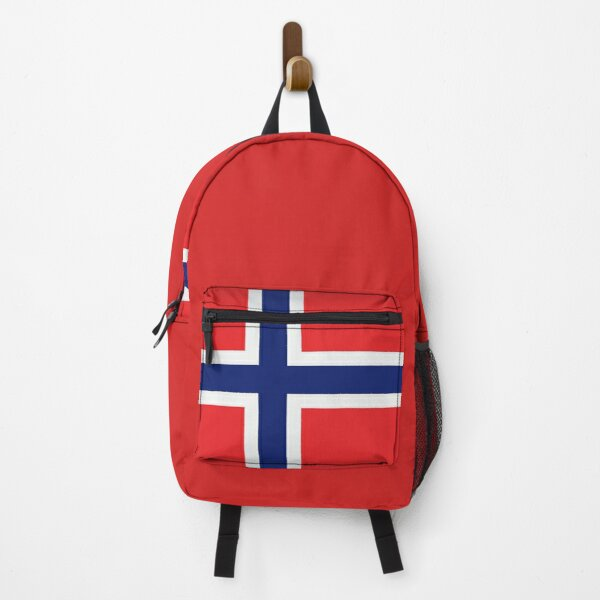 National Flag Of Norway On Shirts Bags Gadgets And Home Decor Backpack