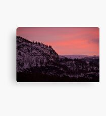 Colors of Finnmark I Canvas Print