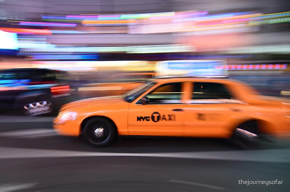 NYC Taxi by thejourneysofar