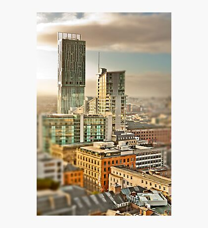Beetham Tower, Manchester (tilt and shift) Photographic Print
